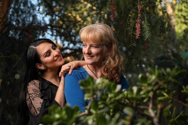 Female Companion with Elderly Senior
