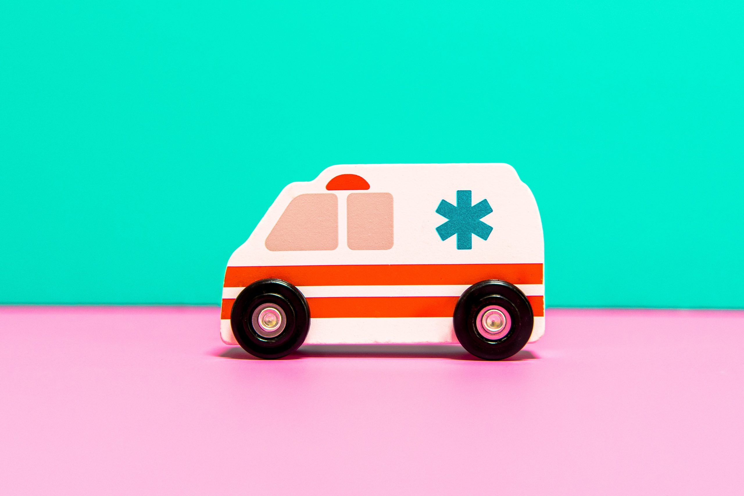 Ambulance activated by medical alert system