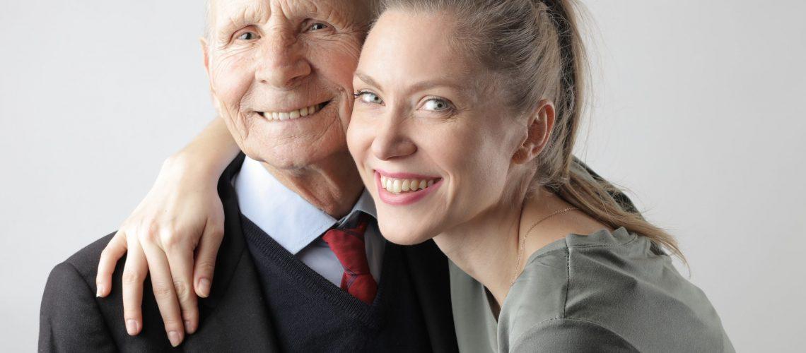Elder parent and child