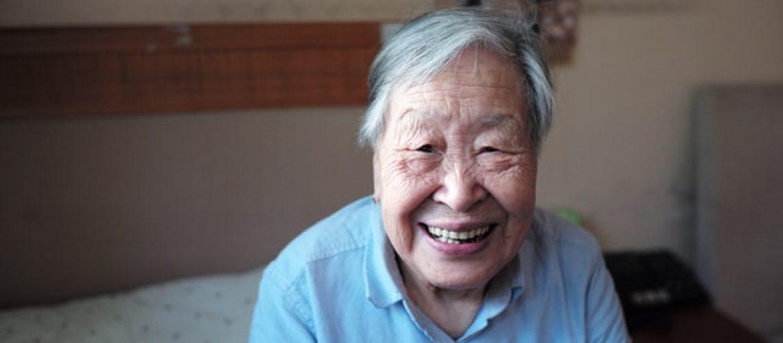 elder in nursing home