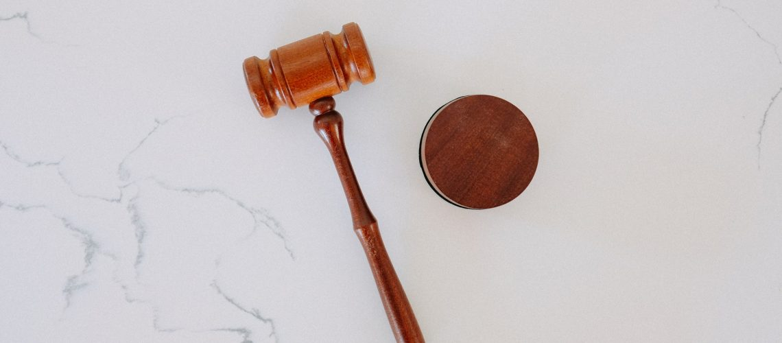 A gavel representing legal services for seniors