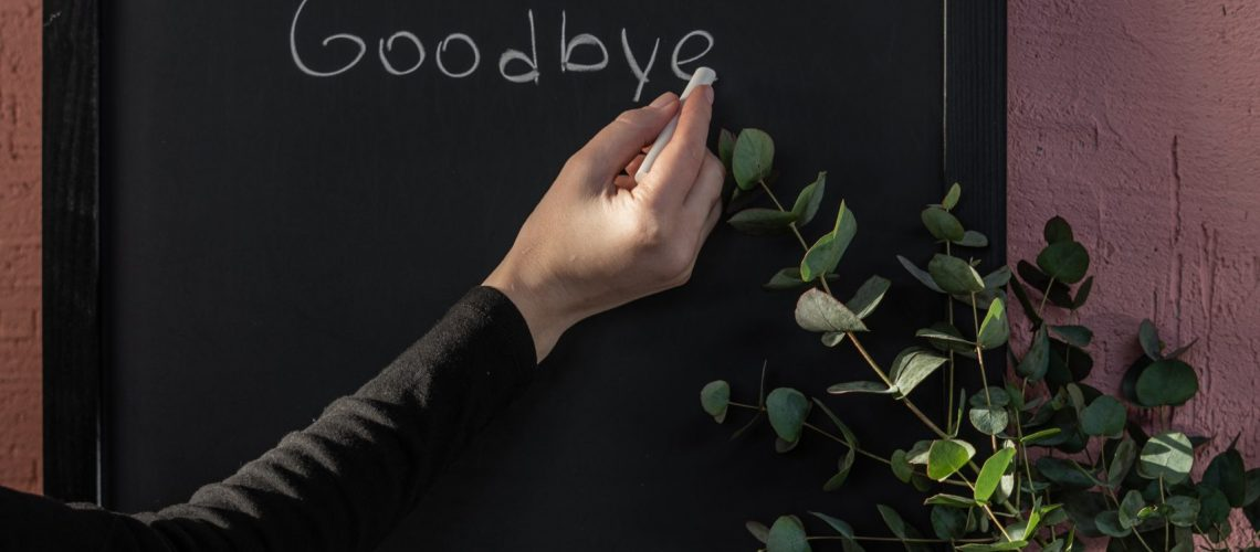 Chalkboard with